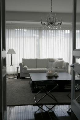港区S邸 (Living room)