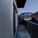 世田谷の住宅3の写真 バルコニー