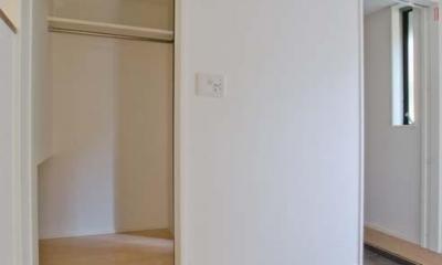 世田谷の住宅3 (開けた状態)