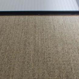 世田谷の住宅3 (洗面床はサイザル麻敷き)