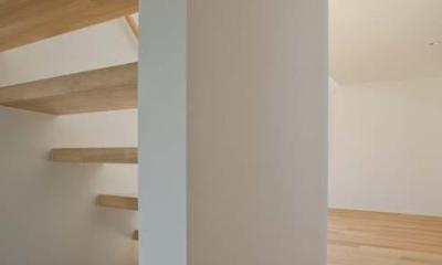 世田谷の住宅3 (階段)