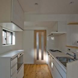 世田谷の住宅2 (リビングと一体的なキッチン)