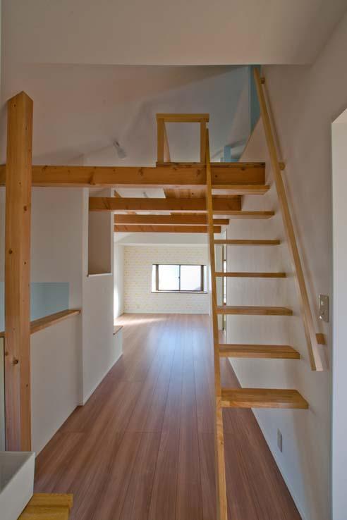 世田谷の住宅2の写真 柔軟に使えるロフト