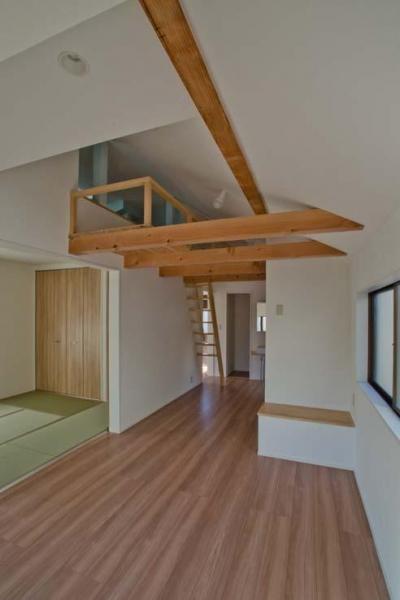 2階フリースペース (世田谷の住宅2)