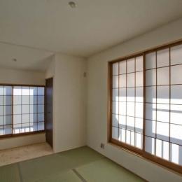 世田谷の住宅2 (畳室-2)