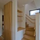 世田谷の住宅2の写真 オープンなリビング階段