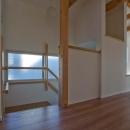 世田谷の住宅2の写真 引戸を開けた状態