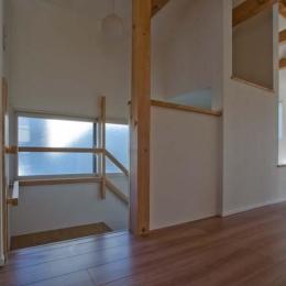 世田谷の住宅2 (引戸を開けた状態)