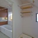 世田谷の住宅2の写真 浴室(キレイユ/LXIL)