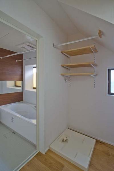 浴室(キレイユ/LXIL) (世田谷の住宅2)