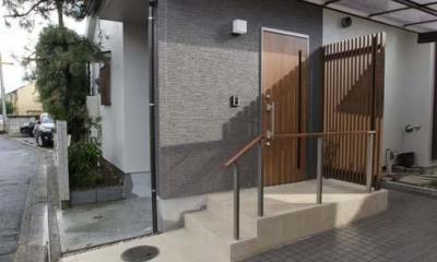玄関|世田谷の住宅2