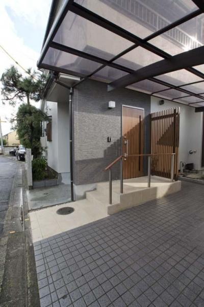 玄関 (世田谷の住宅2)