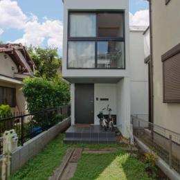 世田谷の住宅 (北側外観)