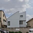 世田谷の住宅の写真 西側外観
