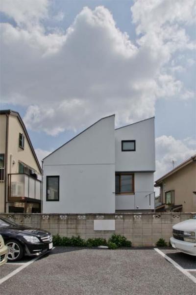 世田谷の住宅 (西側外観)