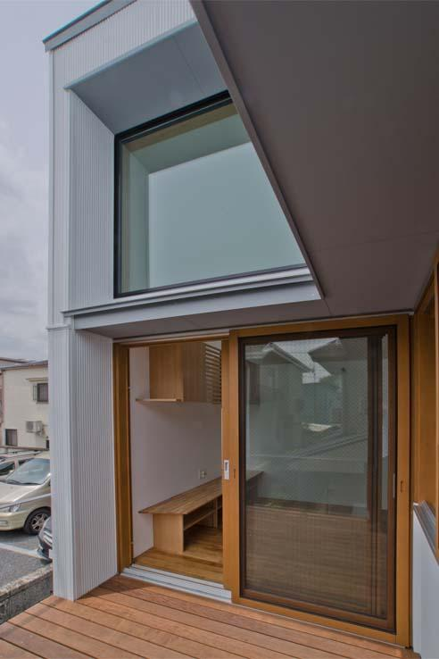 世田谷の住宅の部屋 ウッドデッキテラス