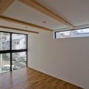 世田谷の住宅の写真 柔軟な間取りのライブラリー