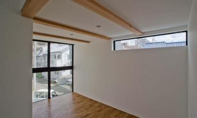 柔軟な間取りのライブラリー|世田谷の住宅