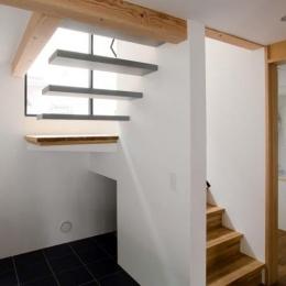 世田谷の住宅 (片持ち階段)