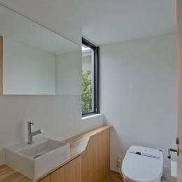 世田谷の住宅 (2階トイレ)