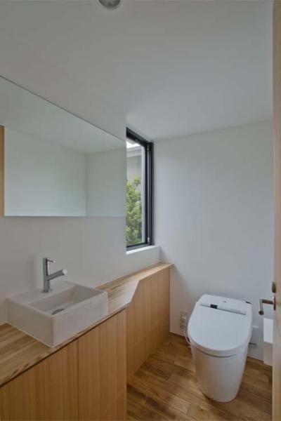 2階トイレ (世田谷の住宅)