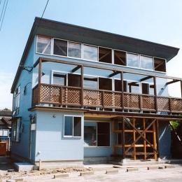 通り土間の家