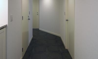 S邸 (廊下)