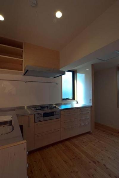 船橋の住宅 (L型キッチン)