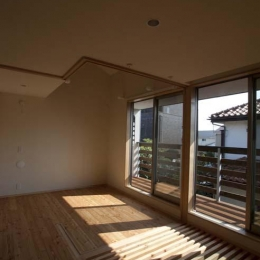 船橋の住宅 (2階のオープンスペース)