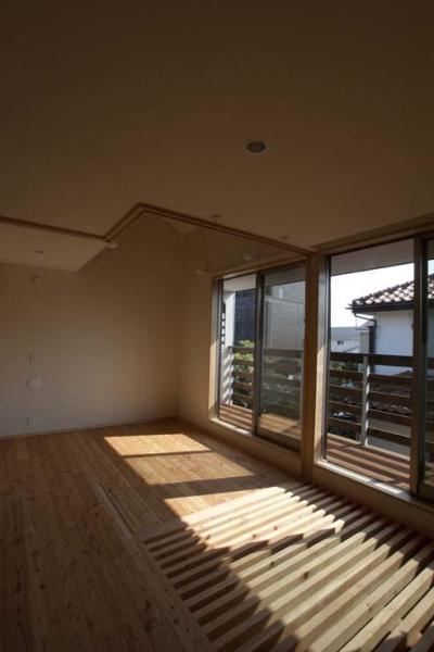 2階のオープンスペース (船橋の住宅)