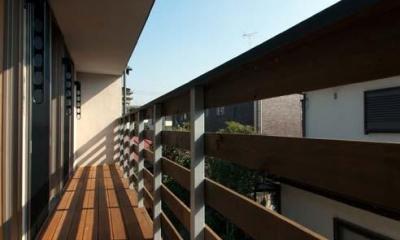 船橋の住宅 (バルコニー)