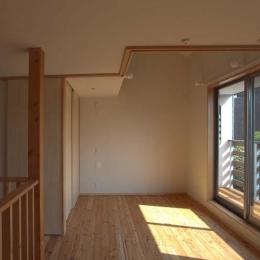 船橋の住宅 (オープンスペース)