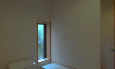 船橋の住宅 (1階トイレ)