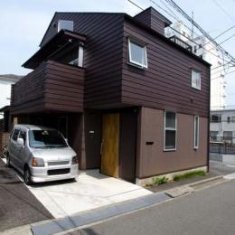 立川の住宅 (南東側外観)