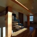 立川の住宅の写真 柱と同材のカバー