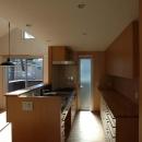 家具製作のキッチン