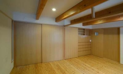 立川の住宅 (寝室)