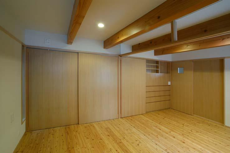 立川の住宅の写真 寝室
