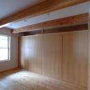 立川の住宅の写真 寝室-建具を引き出した状態