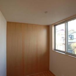 立川の住宅 (個室-建具を出した状態)