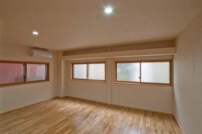 江東の住宅 (改修した寝室)