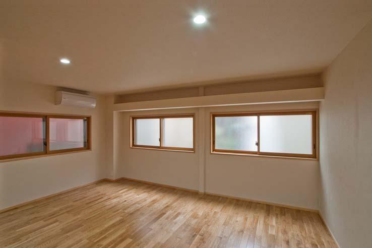 江東の住宅の部屋 改修した寝室