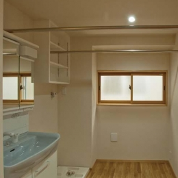 江東の住宅 (洗面室)