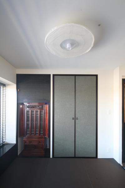 お仏壇和室スペース (M邸)