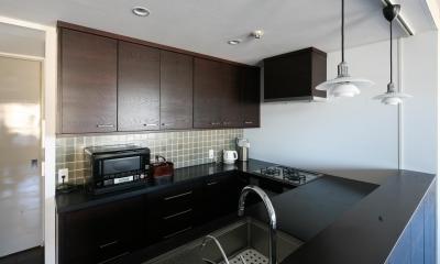 キッチン全体|M邸