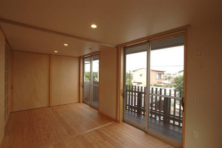 習志野の住宅の部屋 棚下照明