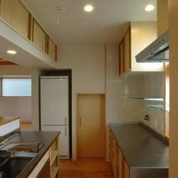 習志野の住宅 (使い方に合わせた造作キッチン)