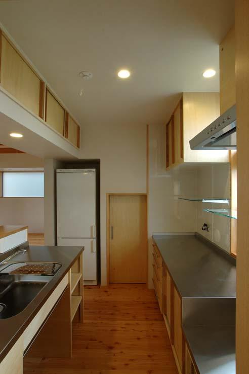 習志野の住宅の部屋 使い方に合わせた造作キッチン