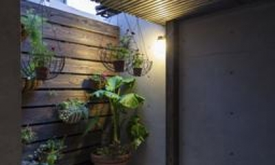 緑を感じる空間|Casa C3