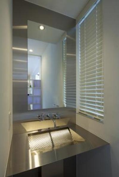 Casa C3 (個性的な洗面所)